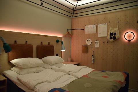 """Ännu en variant av hotellrummet där stämningen är """"lounge""""."""