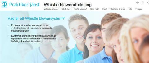 Praktikertjänst lanserar Whistle blowersystem