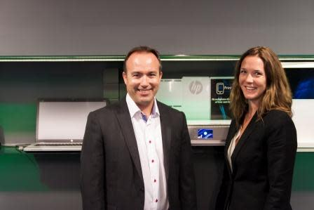 Medium resolution Hewlett Packard Printing and Personal Systems Group i Norge ledes av Ellen Vrålstad og Verner Hølleland