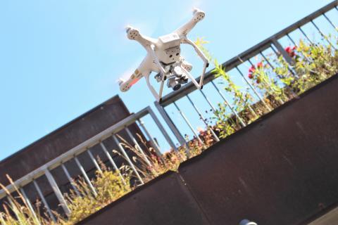 Droner effektiviserer A&K