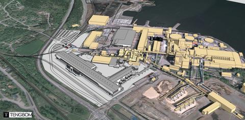 Världens största kartongmaskin kommer att byggas i Grums!