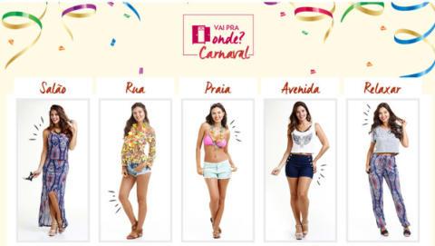 Marisa dá dicas de moda para o Carnaval