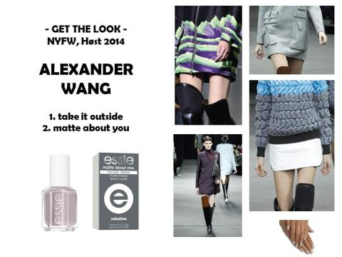 Get the look - Alexander Wang