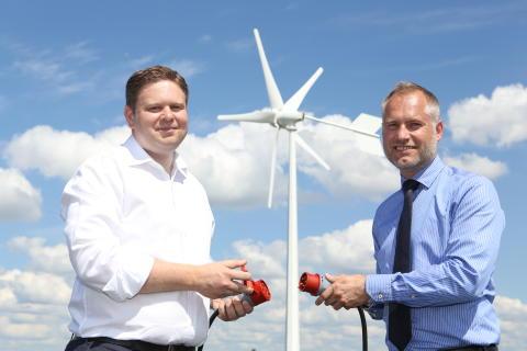 Stockholms första vindparkering
