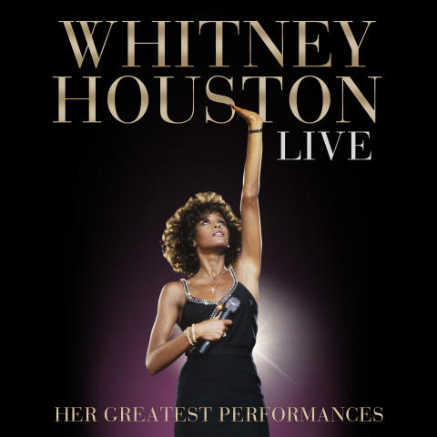 Whitney Houston Live - albumomslag