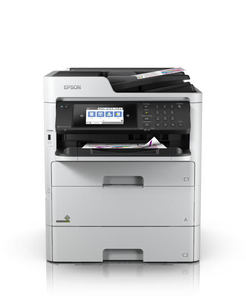 Epson Launches New Workforce Pro WF-C579R Business Inkjet Printer with A4 Replaceable Ink Pack System (RIPS)