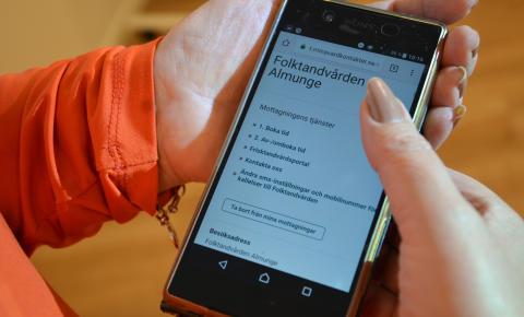 e-tjänster Folktandvården
