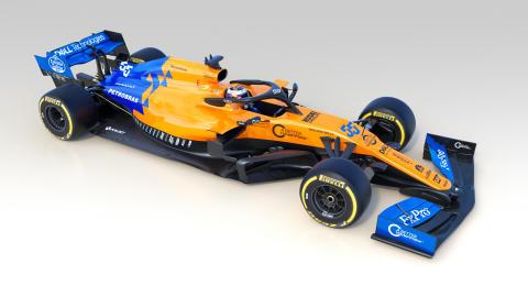 AkzoNobel fait étinceler la nouvelle saison de l'équipe F1 de McLaren