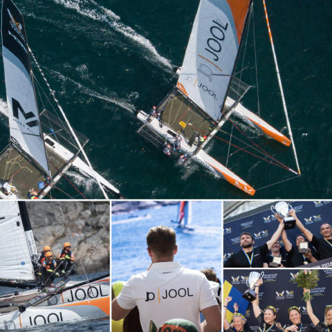 For the 25th year in a row, you can see state of the art sail racing at GKSS Match Cup Sweden. JOOL is once again sponsor and main partner to the event.