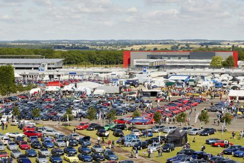 RAC provides breakdown support for visitors to Silverstone Classic