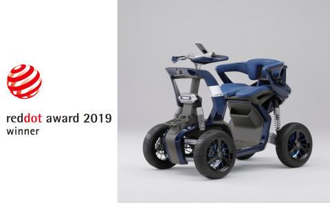 世界的に権威あるデザイン賞 3年連続受賞 Red Dot Award : デザインコンセプト2019