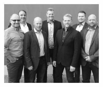 Svensk sales team