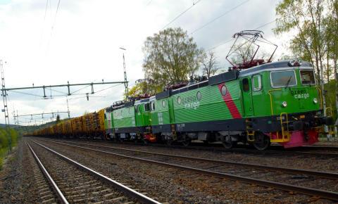 Green Cargo får fortsatt förtroende för rundvirkestransporter åt Ahlstrom-Munksjö