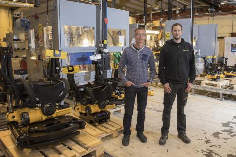 Kvalitetschef på Engcon Group och testansvarig på Engcons fabrik i Strömsund