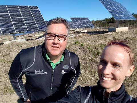 Strålande framtid för solenergi i Västerås