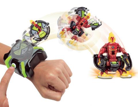 Flair - Ben 10 Omni Launch Battle Figures Asst Lifestyle