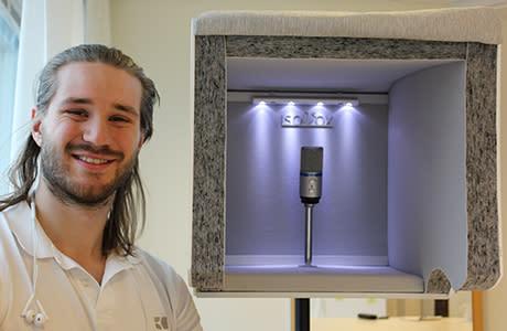 Portabel sångstudio kan revolutionera musikbranschen