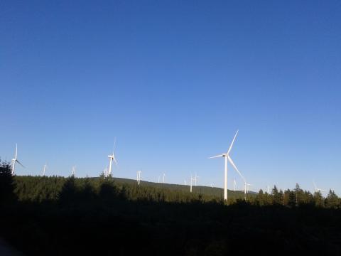 Inauguration du parc éolien de Sambrès, plus grand parc éolien de l'Aude (11)