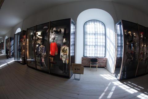 Tøjhusmuseet set indefra - udstillingerne