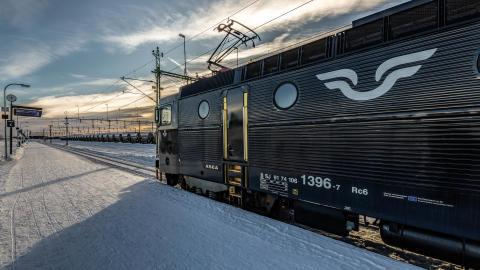 Loktåg Norrland