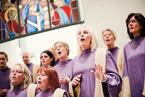 Gospelkören VENI VIDI CANTI fyller 25 år