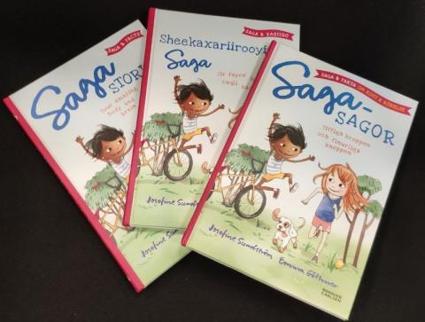 Alla Sveriges 5-åringar får kostnadsfri barnbok