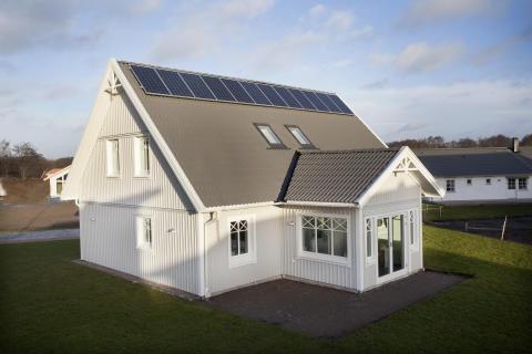 Klimatsmarta Villa Solgläntan visas på Ekocentrum
