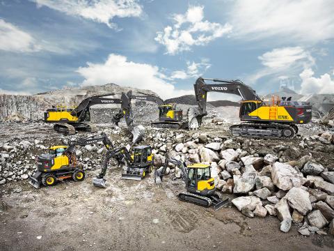 Arvet som lade grunden för Volvos världsledande grävmaskiner