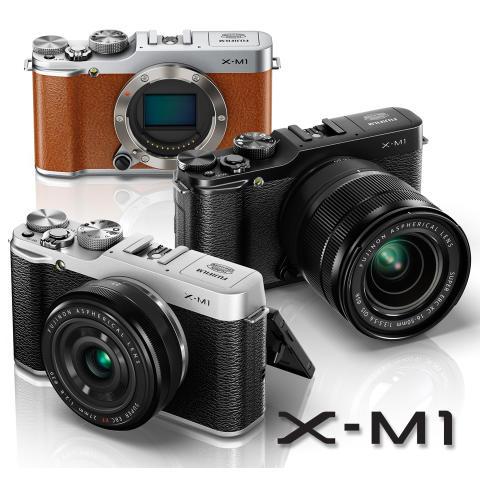 FUJIFILM X-M1 – Uusi kompakti FUJIFILM järjestelmäkamera