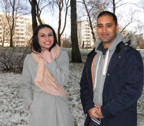 Aiya Mohsen och Ali Al Djaber