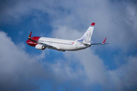 Norwegian indgår nye charteraftaler for over 200 millioner norske kroner