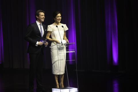 Odense er værtsby, når Kronprinsparret uddeler priser
