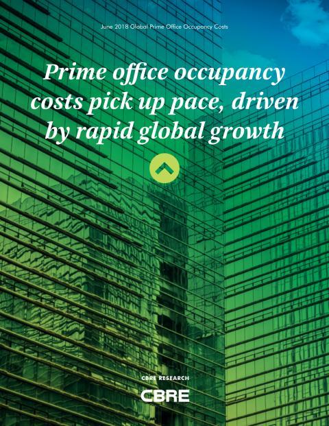 CBRE Prime Office Occupancy Cost