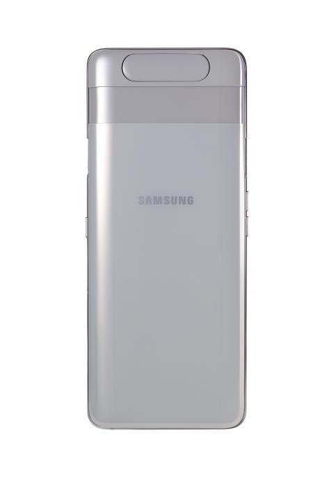 Galaxy A80_Ghost_White_back_no_camera
