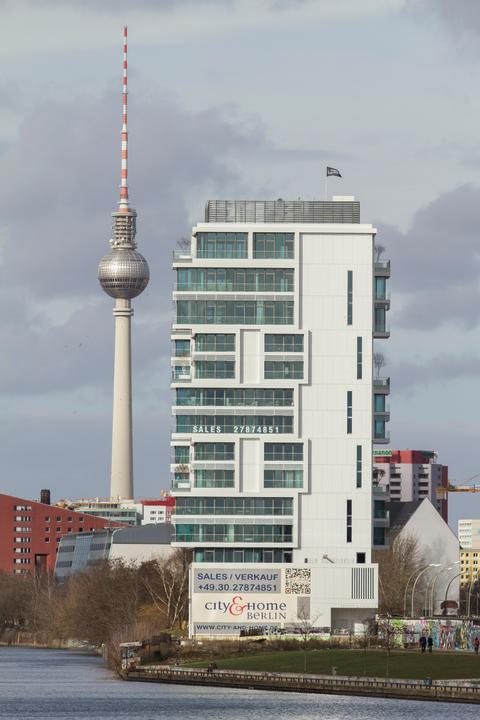 LIVING LEVELS – Luxuswohnen an der Spree direkt in Berlin Mitte