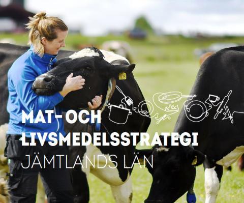 Jöran Hägglund och Robert Uitto inviger arbetet med länets nya mat- och livsmedelsstrategi.