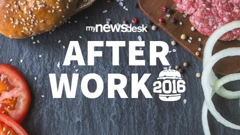 Välkomna på after work hos Mynewsdesk