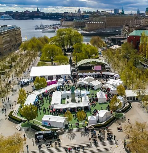Jobbfestivalen i Kungsträdgården den 25 maj - tema mångfald!