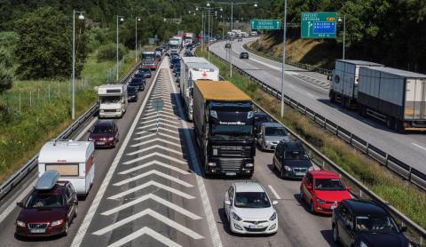 Hållbara transporter ett hett ämne på Handelshögskolan
