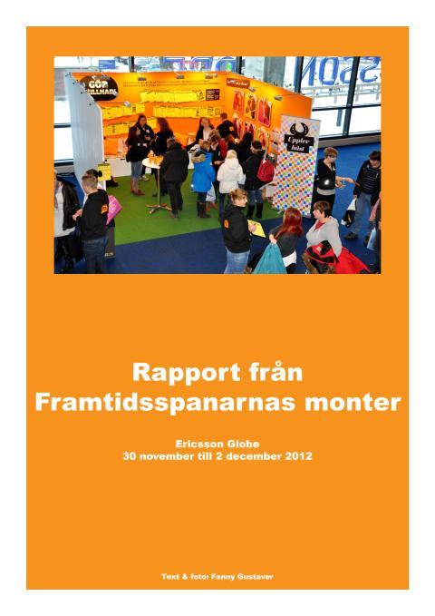 Rapport om Framtidssparnas examensarbete