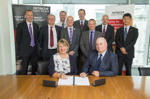 Hitachi Rail Europe Wins First Traffic Management Contract in UK