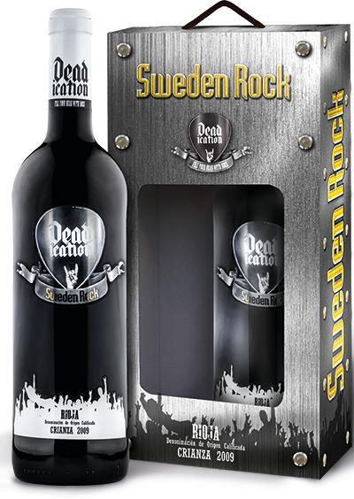Sweden Rock Crianza i presentförpackning