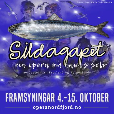 Billettsalet for Sildagapet opnar 1. mars