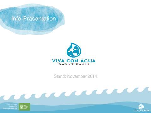 Viva con Agua stellt sich vor