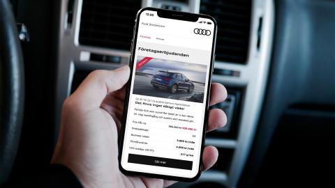 Ny erbjudandesite för Audi Stockholm