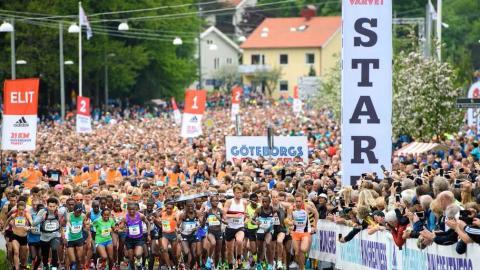 Spring världens största halvmaraton tillsammans med JobOffice Kassa!