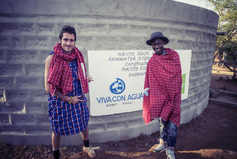 Kenya MICHA FRITZ & OCTOPIZZO Water Tank by Paul Ripke