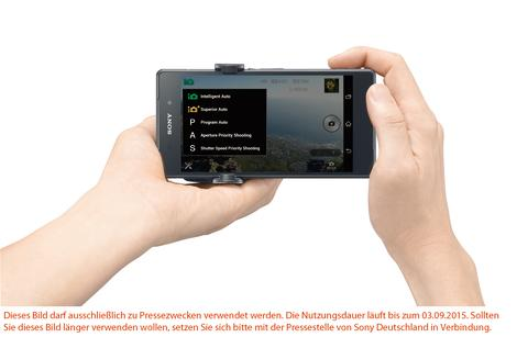 Fantastische Bilder im Handumdrehen: die neue Version der PlayMemories Mobile App von Sony für Smartphones