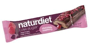 Naturdiet Low Sugar Meal Bar Chocolate Raspberry