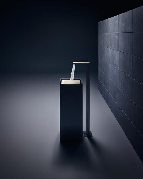 AXOR MyEdition tvättställsblandare för golvmontering i svart krom/brons